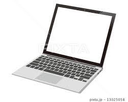 ノートパソコンのイラスト素材 13025058 Pixta