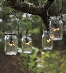 Solar Patio String Lights Image For Mason Jar Lanterns With And Simple Design