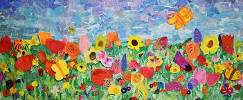 Frühling Im Kunstunterricht In Der Grundschule 136s Webseite
