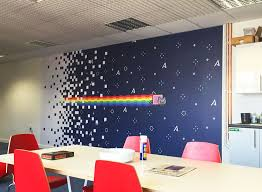 how to add beautiful colors to your office wall