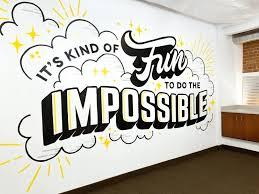 wall murals office. Office Wall Mural Art Above Shots The Shine Project Depot Murals M