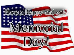 Image result for happy and safe memorial day