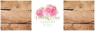 Peony Lane Designs Peony Lane Designs Header Peony Lane Designs