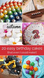 Kids Birthday Cake Decorating Ideas 20 Easy To Decorate Birthday