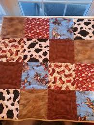 Custom Cowgirl Rodeo Events Quilt Western Print by Western Quilts ... & Western baby quilt with embroidery Adamdwight.com