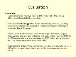 wage determination essay as illustrated in the diagram 4