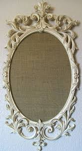 antique mirror frame tattoo. Beautiful Antique FRAMED BULLETIN BOARD CorkboardRomantic Ornate By Shabbymcfabby Do This But  Use Burlap Inside The Frame For My Guest Bedroom For Antique Mirror Frame Tattoo N