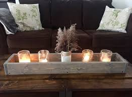 Large Wooden Boxes To Decorate Wood box Large Wood box centerpiece Rustic centerpiece 100 19