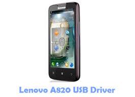 Download Lenovo A820 USB Driver