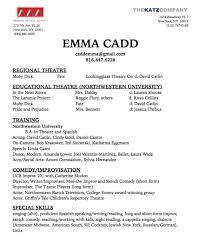 Emma Cadd Resume