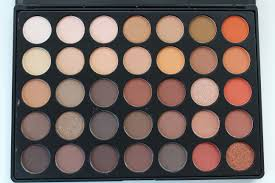 morphe brushes 35o nature glow eyeshadow palette review swatches by face made up