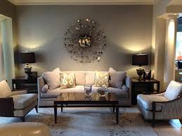Decorated Walls Living Rooms Model