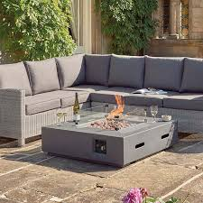 kalos universal firepit coffee table
