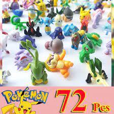 Đồ chơi 72 Pokemon dễ thương cho bé trên 3 tuổi không trùng nhau, chất liệu  nhựa PVC đặc sơn màu đẹp, mô phỏng nhân vật phim hoạt hình Poke'mon Mega  (mẫu ngẫu nhiên) | New4all (Tp.HCM)