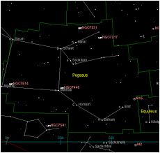 Pegasus Star Chart Pegasus