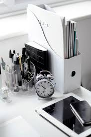 work desk ideas white office. delighful white black and white workspaces work spacesoffice  with desk ideas office f