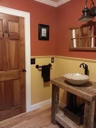 Small Country Bathroom Designs
