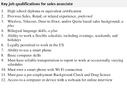 sales associate job descriptionmaintaining and demonstrating knowledge of current promotions    key job qualifications for  s associate