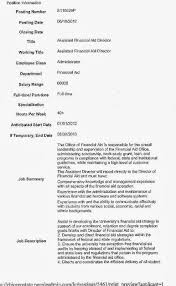 Financial Aid Assistant Sample Resume CSU Faculty Voice Here's Another Falsified Resume From The Current 3