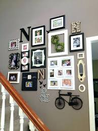 picture frames on staircase wall. Stairway Wall Decorating Ideas Pictures On Staircase Gorgeous . Picture Frames