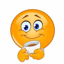 """Résultat de recherche d'images pour """"smiley boire un café"""""""