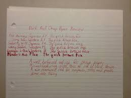 noodler s park red cheap paper review i laike pens noodler s park red cheap paper review