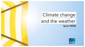 Concern about climate change reaches record levels with half now 'very  concerned'   Ipsos MORI