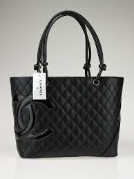Chanel Black Quilted Ligne Cambon Large Tote Bag - Yoogi's Closet & Chanel Black Quilted Ligne Cambon Large Tote Bag Adamdwight.com