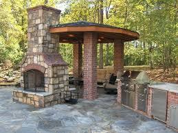 outdoor fireplace screen doors tile porch flagstone