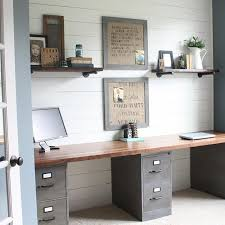 wall desks home office. best 25 long desk ideas on pinterest basement office cheap desks and filing cabinet wall home