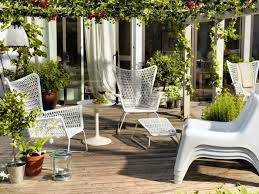 ikea garden furniture of outdoor Chair Ottoman white occasional table