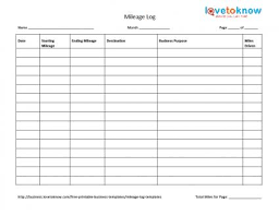 vehicle mileage form vehicle mileage log essential imagine sample claim form templates
