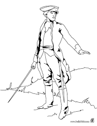 Soldier With Sword Coloring Pages Hellokidscom