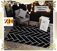 large tatami carpet rug mat living room 190cm x 190cm