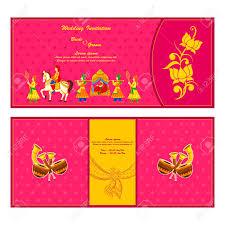 vector illustration of indian wedding invitation card royalty free Indian Wedding Card Free Vector vector illustration of indian wedding invitation card stock vector 35121832 indian wedding card design vector free download