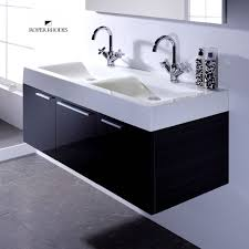 double bowl bathroom sink brilliant roper rhodes envy 1200mm wall hung unit with basin uk pertaining to 7