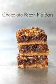 chocolate pecan pie bars. Brilliant Pie Throughout Chocolate Pecan Pie Bars P