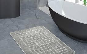 grey bathroom rug custom target runner large sizes rugs white washable gray bath curtains floor round