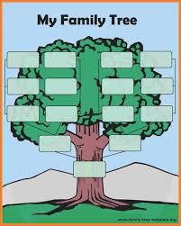 Artistic Family Tree Template Free Creative Sample Yelom Digitalsite