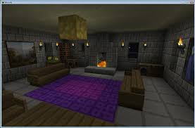 Minecraft Interior Wall Designs living room purple pink pattern