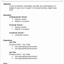 Simple Resume Examples Extraordinary Example Of R And K Selected Species Archives Sierra 48 Qualified