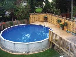 in ground and above ground pools which one to choose picture