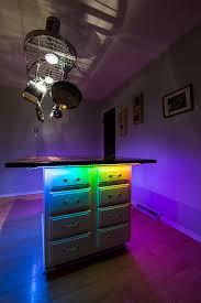 under desk led lighting. Color Chasing LED Light Strip Full Kit With Multi LEDs - Tape Under Desk Led Lighting