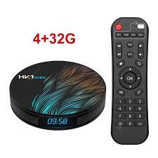 HK1MAX Android 9.0 Smart TV Box Quad Core 2.4G/5G Wifi BT 4.0 DDR3 Netflix  4K HDR Media Player VS X96 HK1 MAX MINI Set Top Box Sale, Price & Reviews