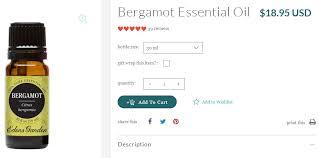 edens garden bergamot essential oil