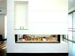 efficiency and attractiveness with double sided fireplace 2 two
