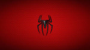 1366x768 Spiderman Logo Background 4k ...