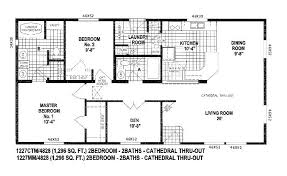 peaceful design ideas floor plans for small double wide mobile homes 10 skyline triple