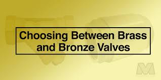Choosing Between Bronze And Brass Valves Valveman Com