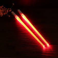 Lightsaber Chopsticks Light Up 1 Pair Of Led Lightsaber Chopsticks Light Up Durable
